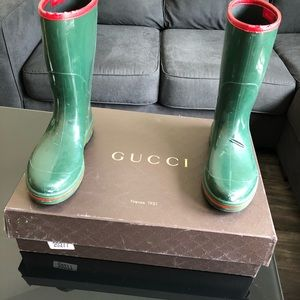 Gucci Men's Rainboots